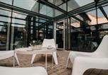Hôtel Szeged - Aquapark Design Rooms-4