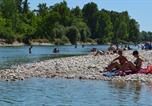 Camping avec Piscine Hauteville-Lompnes - Camping Les Plages de l'Ain-4