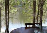 Location vacances Sainte-Adèle - Chalet Lac Long - Spa au bord du lac-1