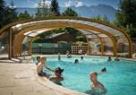 Camping avec Piscine couverte / chauffée Treffort - Camping A La Rencontre du Soleil - Camping French Time-4