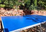 Location vacances Castellví de Rosanes - El Reco, charming house close to Barcelona-2