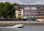 Hôtel Coblence et la forteresse d'Ehrenbreitstein - Hotel Haus Morjan