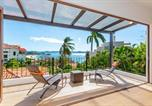 Location vacances Potrero - Luxury ocean-view Flamingo home with pool - upstairs apartment and party deck-1