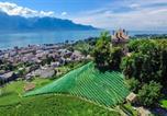 Location vacances Montreux - Montreux Castle | Charming Lake View Studio-3