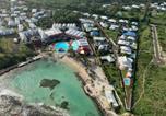 Hôtel Guadeloupe - Grand studio super équipé au Manganao vue mer-2