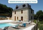 Location vacances Perpezac-le-Blanc - Demeure Perigourdine Entierement Climatisee avec Piscine Privee-1