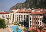 Hôtel İçmeler - Hotel Kent Studyo-3
