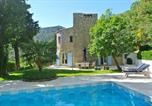 Location vacances Seillans - Stylish stone Mas set in the hills between the 2 beautiful hilltop villages-1