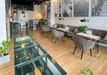 Hôtel Gdynia - Thruster - mini kino, lobby, kuchnia, netflix-2