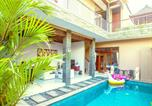 Location vacances Kuta - Mimi Dream Villa- 500m Beach- Free Breakfast-1
