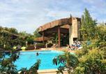 Camping avec Piscine couverte / chauffée Vielle-Saint-Girons - Village Tropical Sen-Yan-1