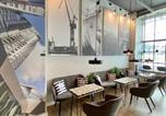 Hôtel Gdynia - Thruster - mini kino, lobby, kuchnia, netflix-4