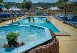 Camping avec Piscine couverte / chauffée Laurac-en-Vivarais - Family des Issoux - Camping Paradis-1