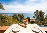 Location vacances Vallauris - Luxurious 4 bedrooms villa, sea view, private pool-3