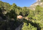 Location vacances El Castell de Guadalest - Yurta Naranja-3