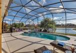 Location vacances Kissimmee - Kissimmee Villa Sleeps 10 Pool Air Con Wifi-3