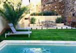 Location vacances La Bastide-d'Engras - Xixe Provencal Stone House with Private Pool-4