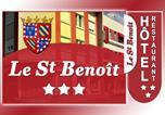 Hôtel Saône-et-Loire - Hotel Restaurant Saint-Benoit-3