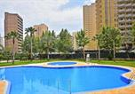 Location vacances Benidorm - Apartment with one bedroom in Benidorm with wonderful city view shared pool and terrace 900 m from the beach-3