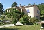 Location vacances  Drôme - Quiet Holiday Home in Marignac-en-Diois with Garden-1