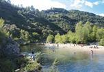 Camping avec Site nature Beaumont - Camping Les Chataigniers-2
