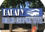 Camping Pologne - Baraky Mielno Camping Style-1