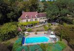 Location vacances Carlux - Maison de charme à 5 km de Sarlat avec piscine-3