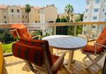 Location vacances Menton - Menton 2 pièces 4 personnes avec grande terrasse au calme plage à pied-3