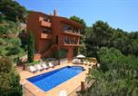 Location vacances Begur - Aiguablava Villa Sleeps 10-1