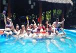 Hôtel Mexique - Lucky Traveler Hostel - Food, Drinks, Friends & Fun!!-1