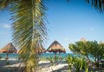 Location vacances Isla Mujeres - Beachfront Luxury Garden House-1