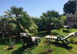 Location vacances Montecosaro - Apartment with one bedroom in Civitanova Marche with furnished garden and Wifi-1
