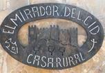 Location vacances Yunquera de Henares - Apartamentos Rurales El Mirador Del Cid-2