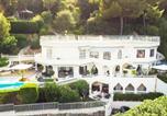 Location vacances Vallauris - Luxury Villa with Spa in Golfe-Juan - Sea View-1