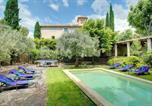 Location vacances Bédoin - Caromb Villa Sleeps 12 Pool Air Con Wifi-1