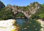 Camping avec Piscine couverte / chauffée Saint-Alban-Auriolles - Yelloh! Village - Soleil Vivarais-4