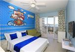 Location vacances Sanya - Sanya Shan Hu Hai Apartment Bihai Lantian Branch-4