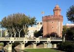 Location vacances Perpignan - Studio 2 personnes dans résidence sécurisée 72995-1