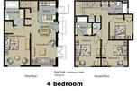 Location vacances Kissimmee - Townhouse at The Villas at Seven Dwarfs (sb)-4