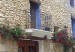 Location vacances Manzanera - Casa Rural Aras-1