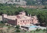 Location vacances Altura - Masia de San Juan - castillo con piscina en plena Sierra Calderona-1