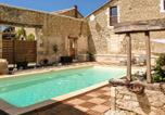 Location vacances Cercles - Charming holiday home in Aquitaine with Swimming Pool-1
