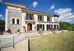 Location vacances Estellencs - Es Capdella Villa Sleeps 10 with Pool Air Con and Wifi-1