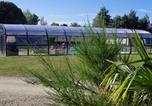 Camping avec Piscine couverte / chauffée Brest - Camping Domaine de Mesqueau-4