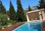 Hôtel Nans-les-Pins - Les Manaux en Provence-4