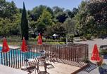 Camping avec Piscine Aramits - Camping Beau Rivage-4