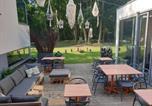 Hôtel Feignies - Table et chambre particulière-4