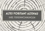 Location vacances Altenau - Altes Forstamt Altenau-1