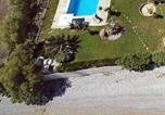 Location vacances Xylokastro - Beachfront dream house with pool-2