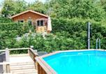 Location vacances Poilley - The Cabin with heated outdoor pool-1